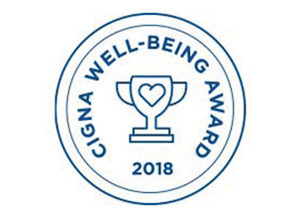 Cigna well-being award 2018